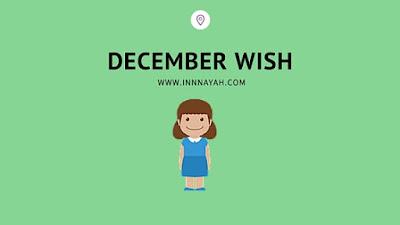 december, wish