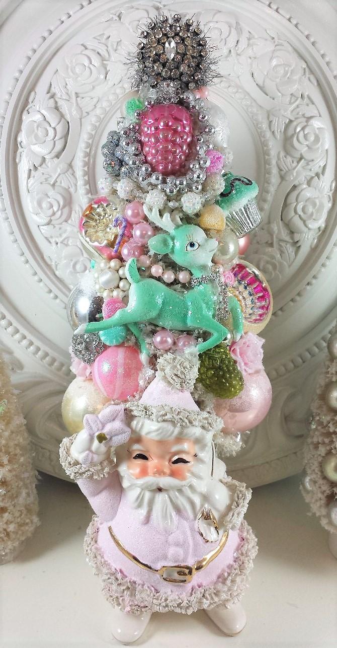 Pink Santa Tree