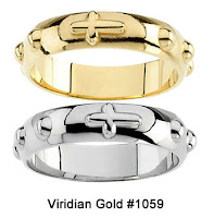 Rosary Rings in Gold or Silver