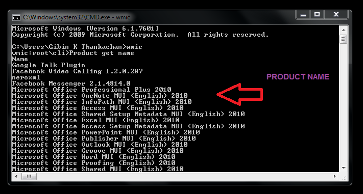 Command-prompt-Product-get-name