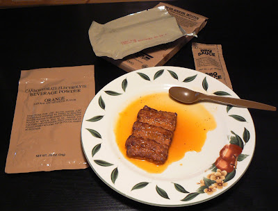 MRE Menu 16, Pork Rib