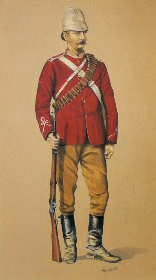 90th (Perthshire Volunteers) (Light Infantry) Mounted