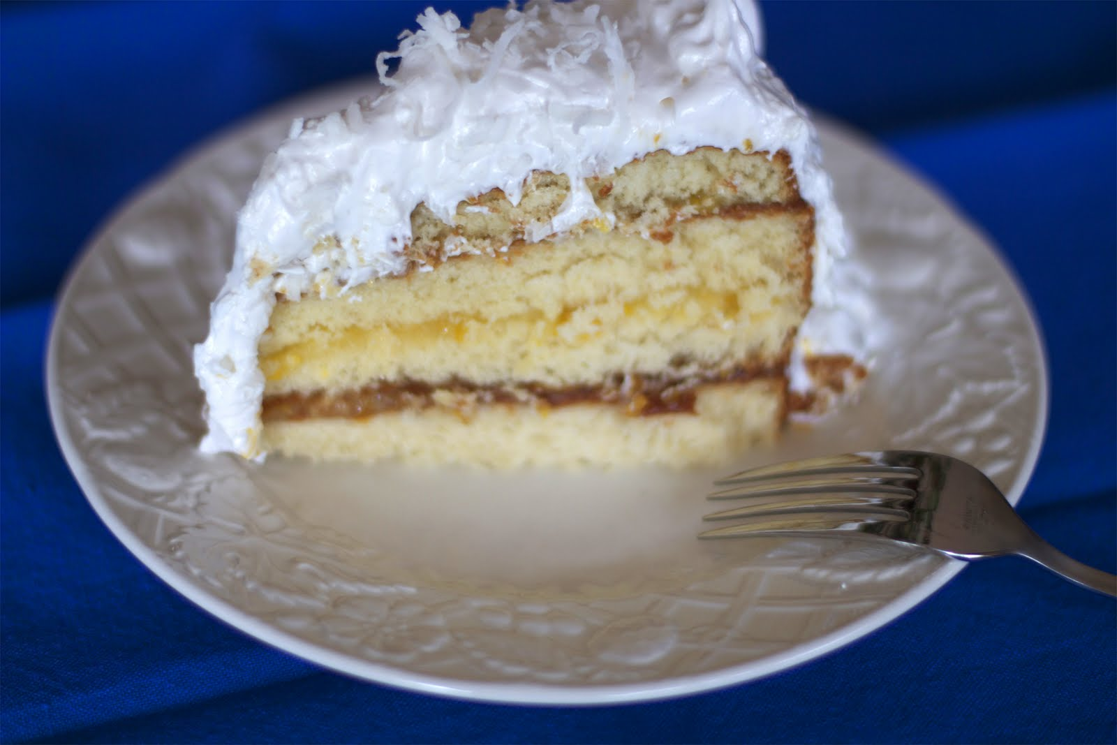 Oh my golly!: Lemon Layer Cake