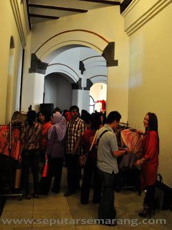 Pameran Kriya Unggulan Nusantara di Lawang Sewu