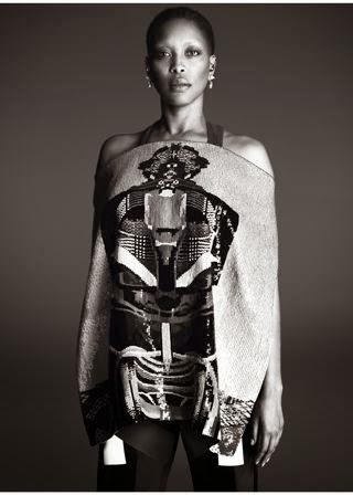 Erykah Badu for Givenchy Spring 2014 by Mert & Marcus