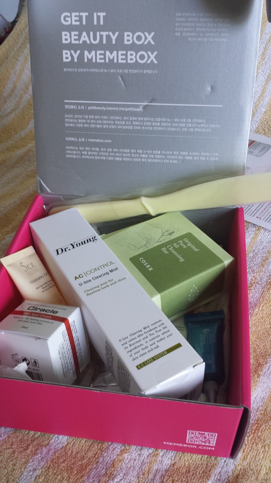 Unboxing Free From Oil & Troubles Memebox