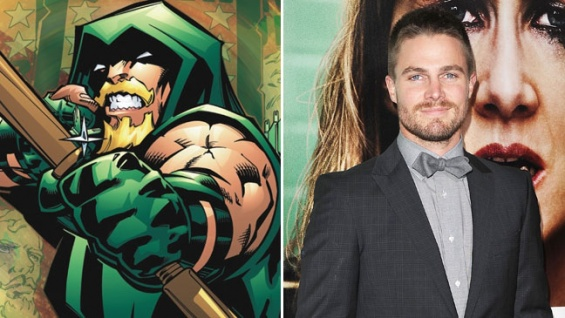 green arrow, stephen amell, comic, neoverso, fancom,