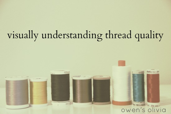 Owens Olivia Your Sewing Thread Under A Microscope Visually
