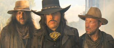 Country music star Dwight Yoakam as the film's villain.