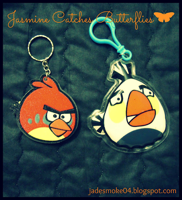 Angry Bird Keychains