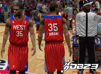 NBA 2K13 West All-Stars 2013 Jersey Patch