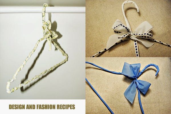 { DIY } How to reuse hangers on Design and fashion recipes