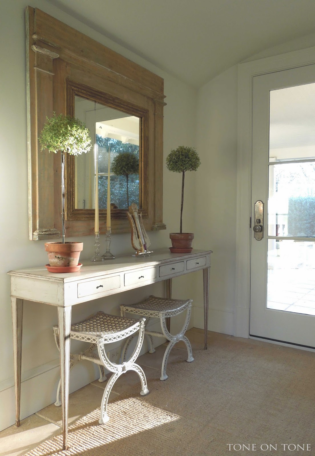 Small Foyer Pics : Tone on small spaces in our home