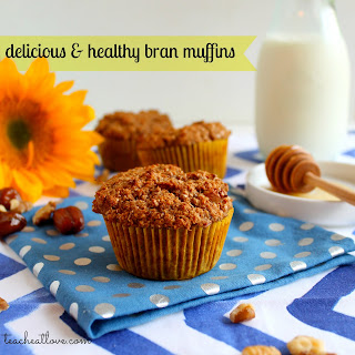 low fat bran muffins