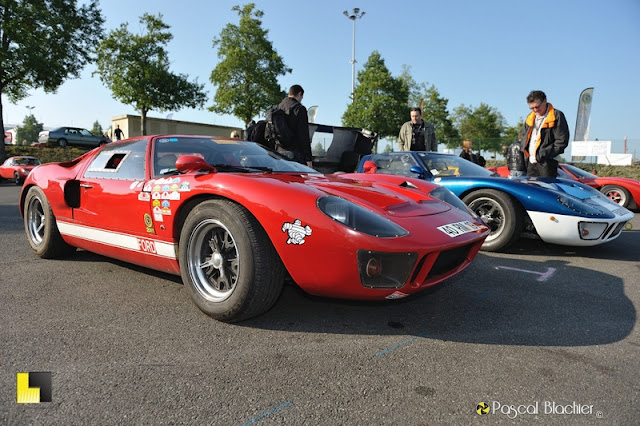 une superbe ford gt40 à magny cours photo blachier pascal