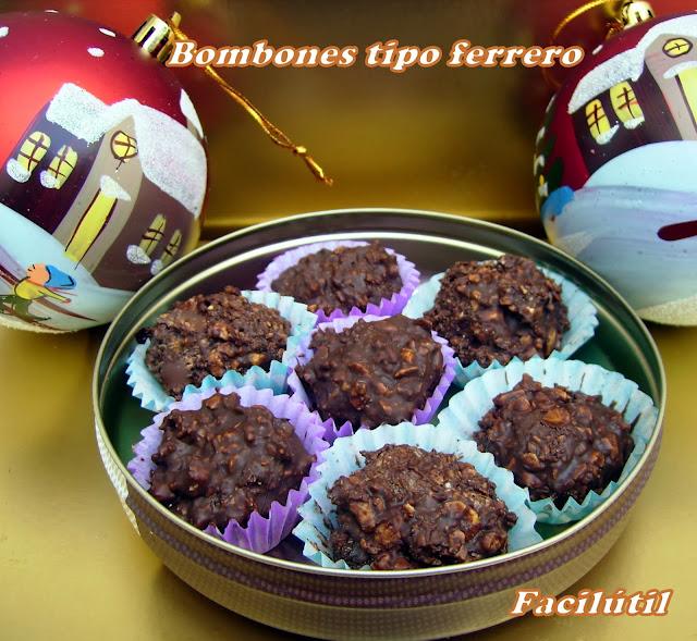 Bombones-tipo-Ferrero-Rocher-caseros