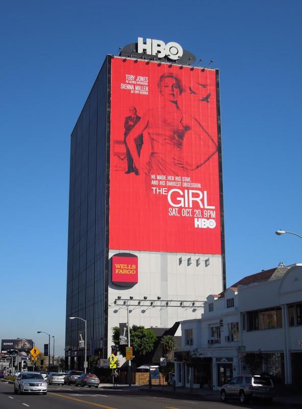 giant Girl HBO movie billboard