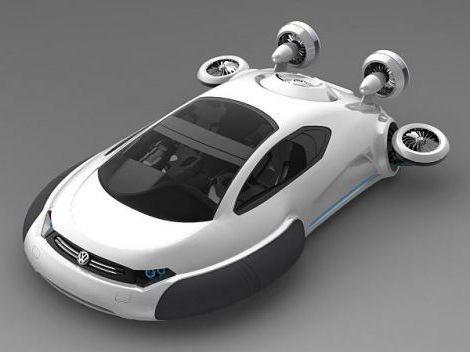 Volkswagen Aqua Hovercraft Concept 2020