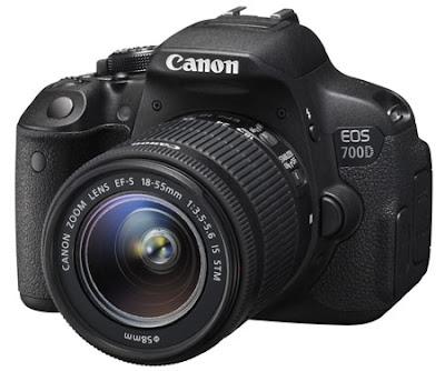 Review spesifikasi harga Canon EOS 700D