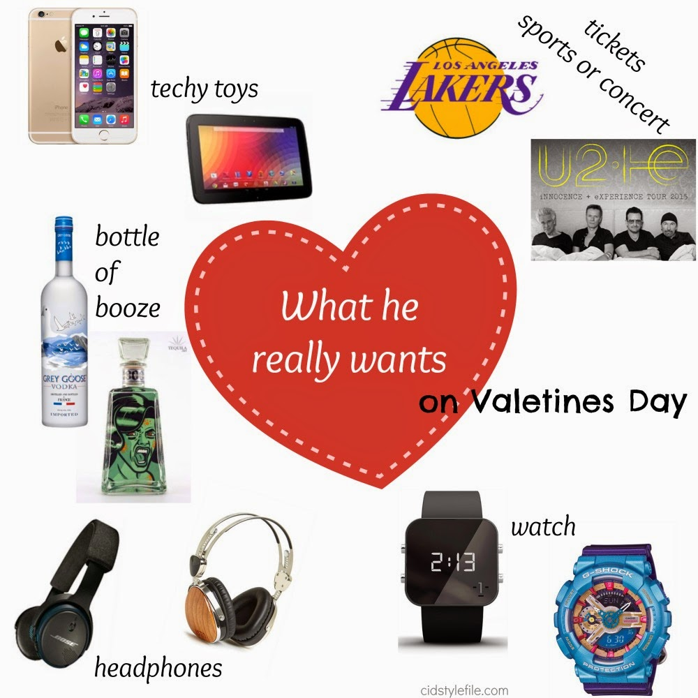 lakers, concerts, technology, vodka, tequila, headphones, watches, vday, for you man, best gift for him