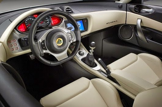 2016 Lotus Evora interior