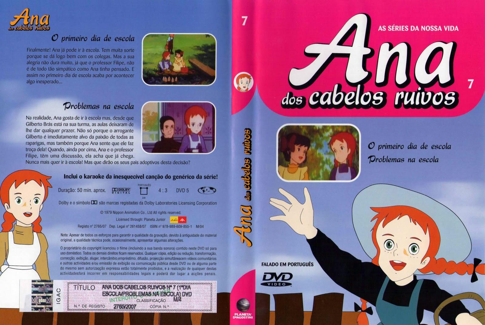 Ana dos Cabelos Ruivos Vol.1 A 25  PT-PT Ana+dos+Cabelos+Ruivos+Vol.7-capa