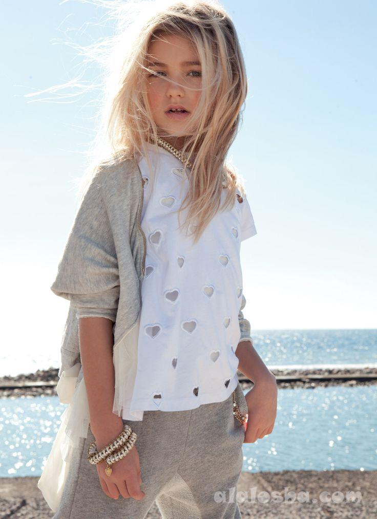 ALALOSHA: VOGUE ENFANTS: TWIN-SET by Simona Barbieri Girl ...