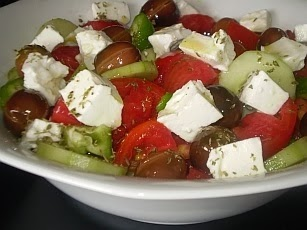Traditional Greek Salad - Horiatiki - Recipe