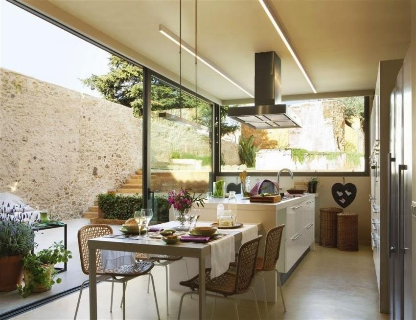 Minty inspirations wystr j wn trz dodatki i dekoracje for Vistas de cocinas