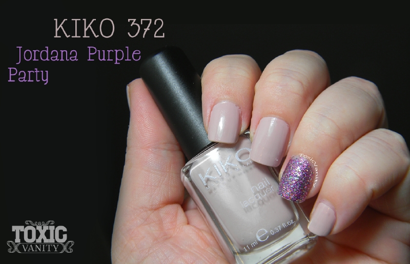 Combo Perfecto : KIKO 372 / Jordana Purple Party - Toxic Vanity