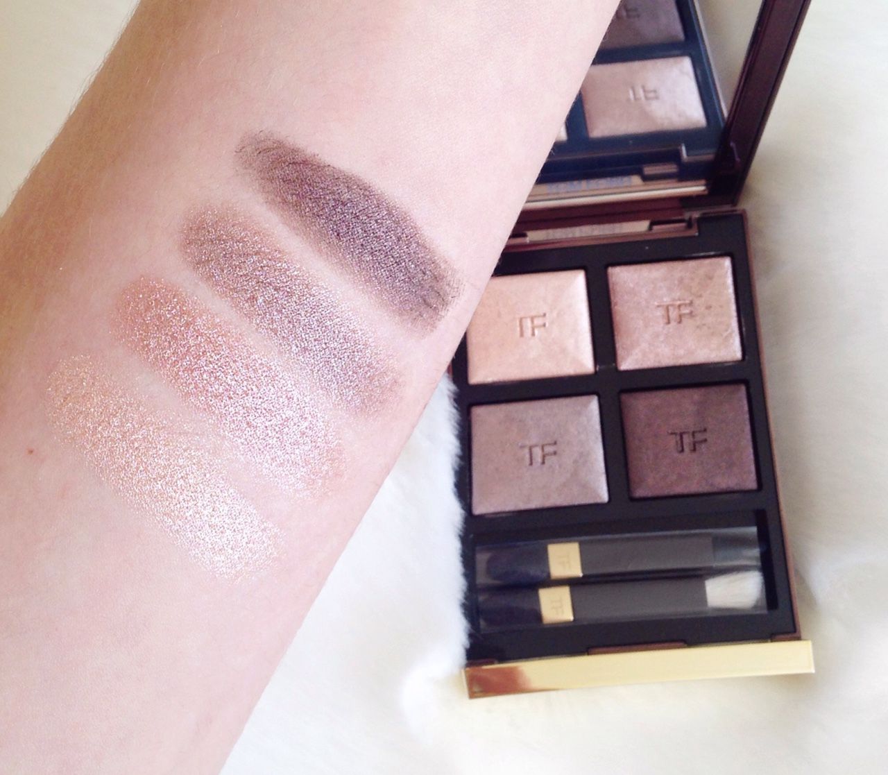 Tom Ford Nude Dip Eye Shadow Quad For Fall 2014 | The Non