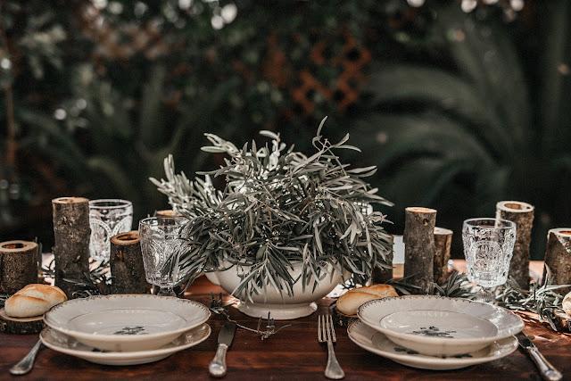 decoración mesa bodas ideas flores vajillas mesas desnudas catering vajilla exótico navidad blog bodas