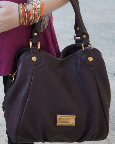 MbMJ carob brown fran bag
