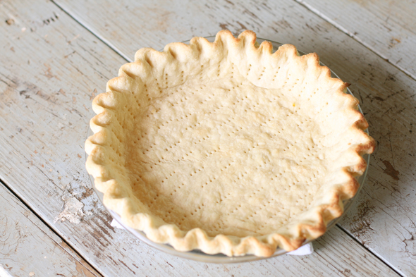 how to make simple dough for pie
