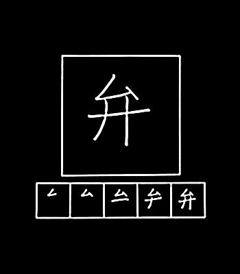 kanji berbicara fasih, katup