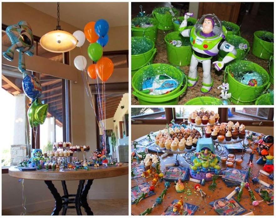 Decoración de Fiestas Infantiles de Toy Story | Arcos con Globos ...