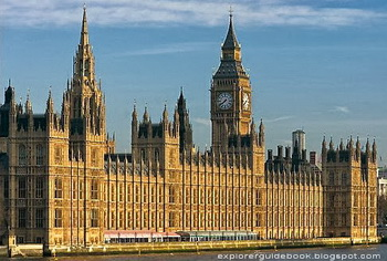 tempat wisata terkenal di london Houses of Parliament UK