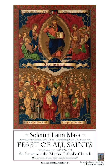 Toronto - Solemn Latin Masses