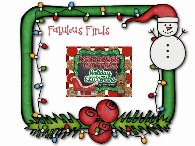 http://www.teacherspayteachers.com/Product/Reindeer-Games-ELA-Centers-996782