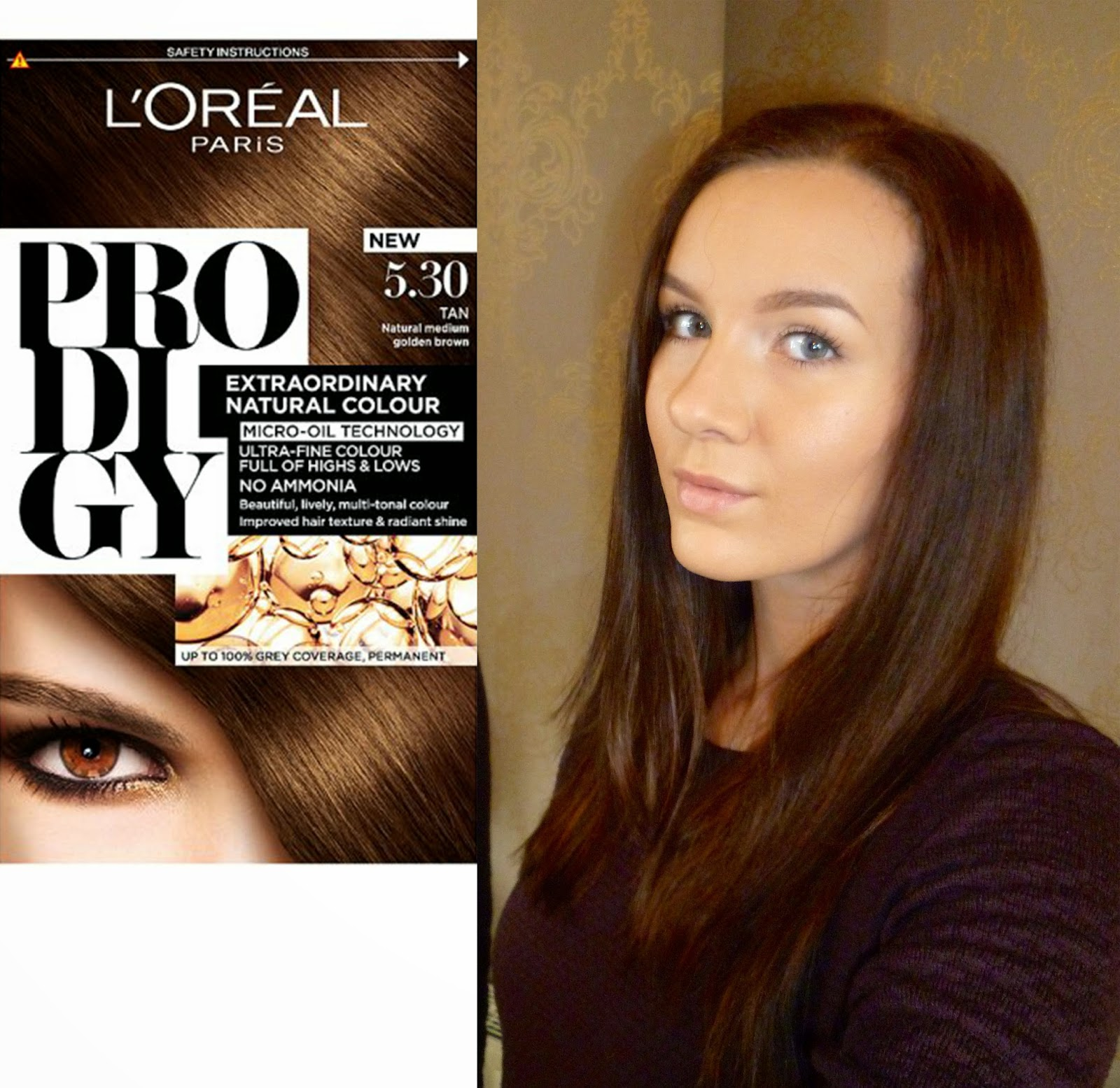 Over Dressed Under Budget Loreal Prodigy Hair Colour Review