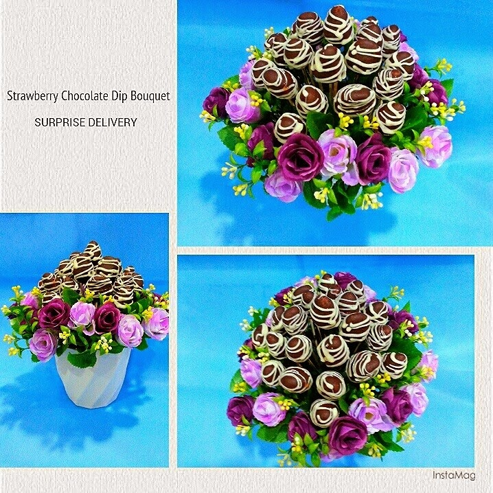 Strawberry Dipped Chocolate Bouquet