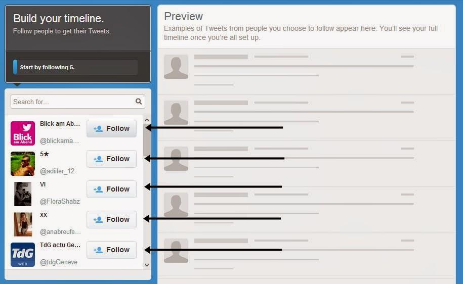 Cara Membuat Twitter dan Daftar Twitter gambar 4