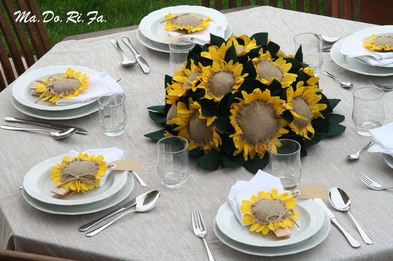 Bomboniere Matrimonio Girasoli : Ma do ri fa le nozze con i girasoli