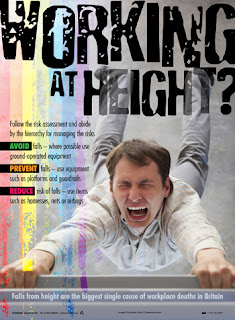 Working at height posters