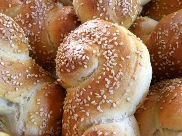 Sugarprincess: Luxusbrötchen mit Sesam