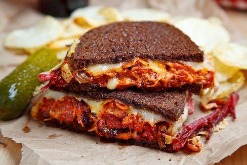 Kimchi Reuben Sandwich