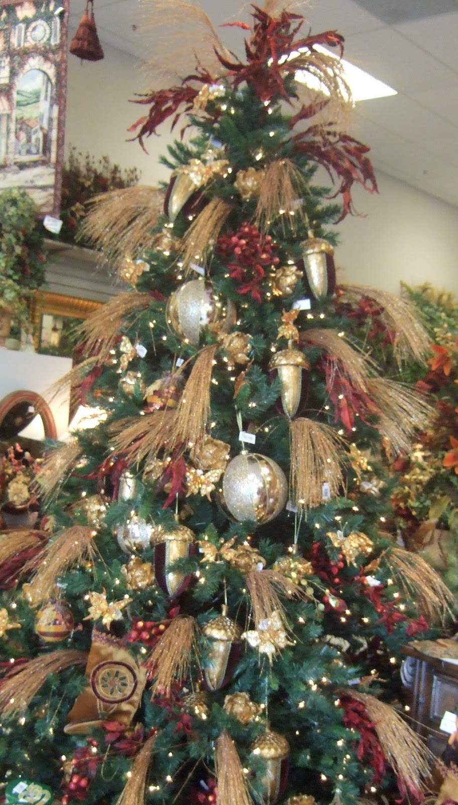 Christmas Feather Trees