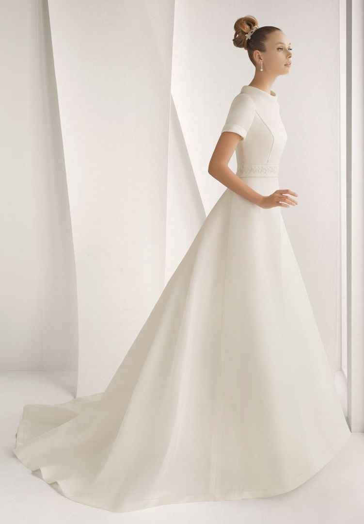 Whiteazalea simple dresses simple vintage wedding dresses for Simple elegant short wedding dresses