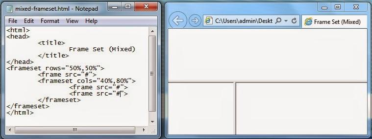 PHP Programming For Beginners: HTML Frames