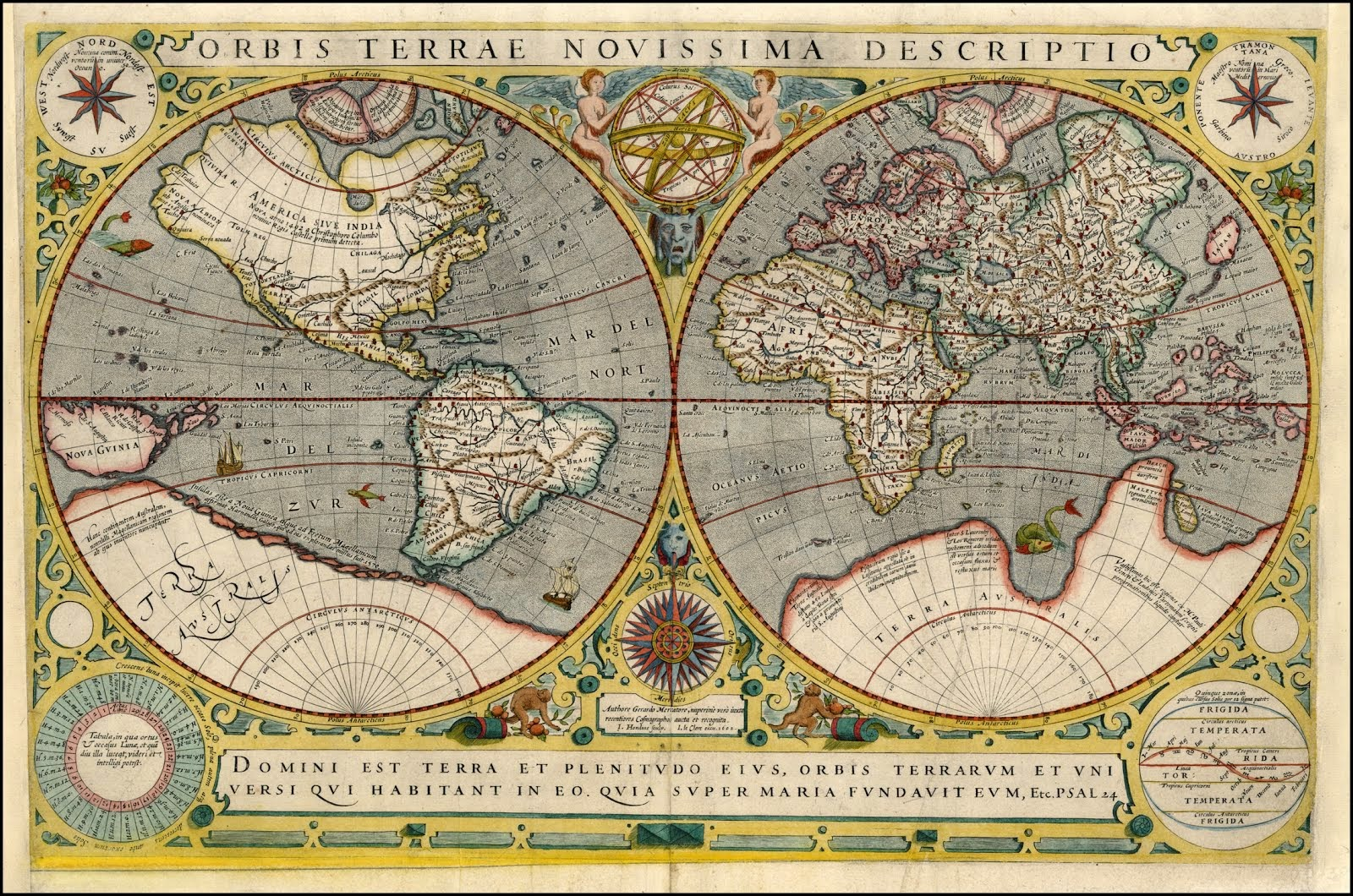 Antiguo planisferio